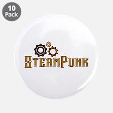 "Steampunk 3.5"" Button (10 pack)"