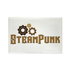 Steampunk Rectangle Magnet