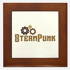 Steampunk Framed Tile