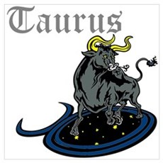 Taurus Wall Art Poster