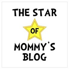 Mommy's Blog Star Wall Art Poster