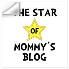 Mommy's Blog Star Wall Art Wall Decal