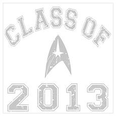 Class Of 2013 Trekkie Wall Art Poster
