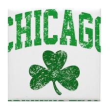 Chicago Drinking Tile Coaster