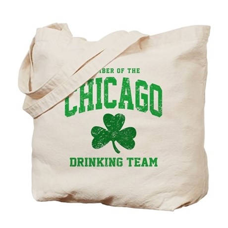 Chicago Drinking Tote Bag