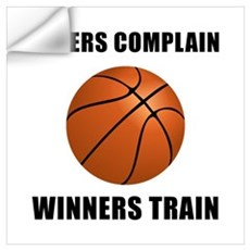 Basketball Winners Train Wall Art Wall Decal