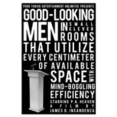 Good Looking Men... mini poster Canvas Art