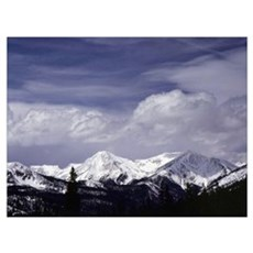 View from Rabbit Ears Pass-3 Wall Art Poster