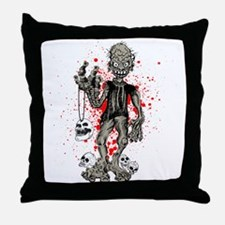 Zombie Throw Pillow