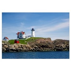 Nubble Light Main Wall Art Canvas Art