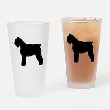 Bouvier des Flandres Dog Drinking Glass
