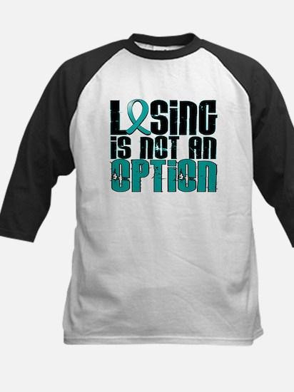 Losing Is Not An Option PKD Kids Baseball Jersey
