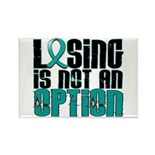 Losing Is Not An Option PKD Rectangle Magnet