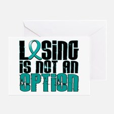 Losing Is Not An Option PKD Greeting Card