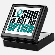 Losing Is Not An Option PKD Keepsake Box