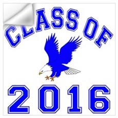 Class Of 2016 Eagle Wall Art Wall Decal