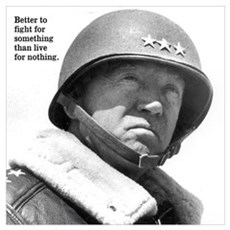 George Patton Wall Art Poster
