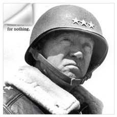 George Patton Wall Art Wall Decal