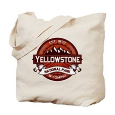 Yellowstone Crimson Tote Bag