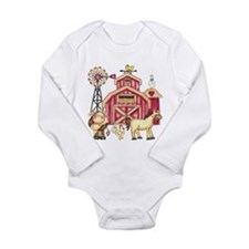 Farm and Animals Body Suit