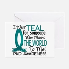 Means World To Me 1 PKD Greeting Card