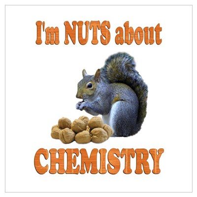 Chemistry Wall Art Poster