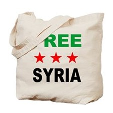 Funny Syria revolution Tote Bag
