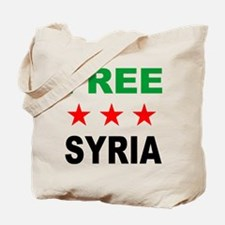 Cute Syrian revolution Tote Bag