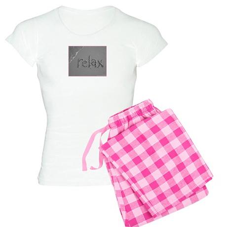 Women's relax Sand Script Pajamas