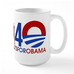 Large Male Sluts for Obama Mug
