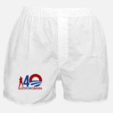Male Slut for Obama Boxer Shorts