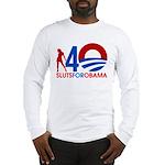 Long Sleeve Sluts for Obama T-Shirt