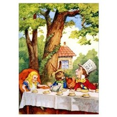 MAD HATTER'S TEA PARTY Wall Art Poster