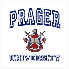 PRAGER University Wall Art Poster
