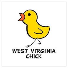 Chick Wall Art Poster