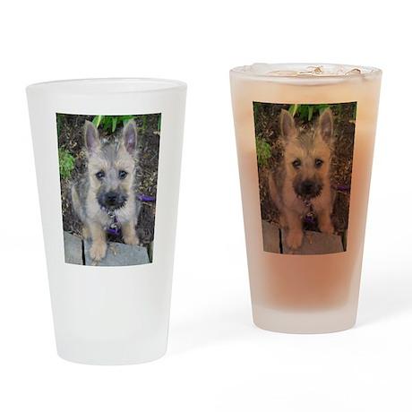 "Cairn Terrier ""Emma"" Drinking Glass"