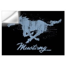 Mustang - Grunge Wall Art Wall Decal