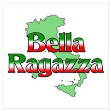 Bella Ragazza Wall Art Poster