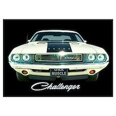 Challenger Wall Art Poster