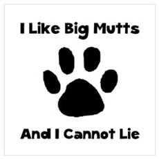 Big Mutts Wall Art Poster