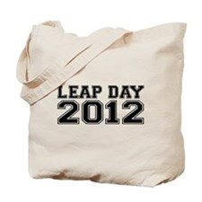 LEAP DAY 2012 Tote Bag