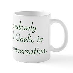 Random Gaelic Mug