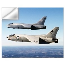 F-8 Crusader Wall Art Wall Decal