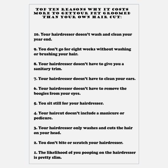 Top ten reasons why grooming Wall Art