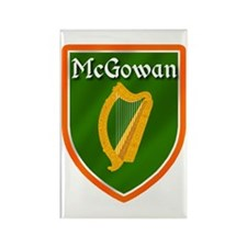 McGowan Family Crest Rectangle Magnet