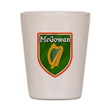 McGowan Family Crest Shot Glass