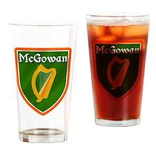 McGowan Family Crest Drinking Glass