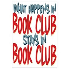 What Happens In Book Club Wall Art