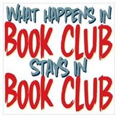 What Happens In Book Club Wall Art Poster