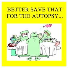 funny surgeon jokes Wall Art Poster